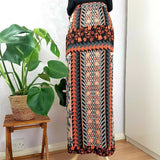 River Island Floral Maxi Wrap Skirt 10