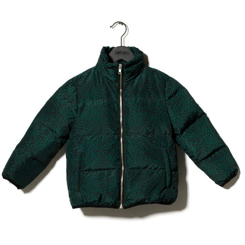 Animal Print Padded Bomber Jacket - Someday Soon - NEW - Age 5/6