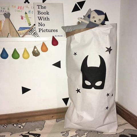 Batmask Paper Storage Bag