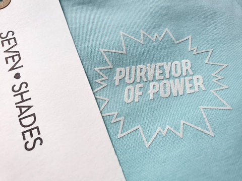 Purveyor of Power Sustainable T-Shirt Mint