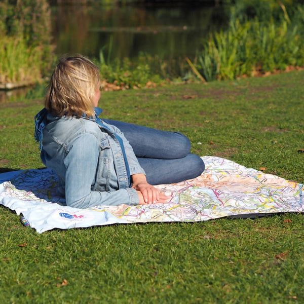 OS Lake District PACMAT Picnic Blanket