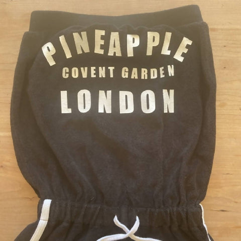 Pineapple girls' towelling playsuit, age size M