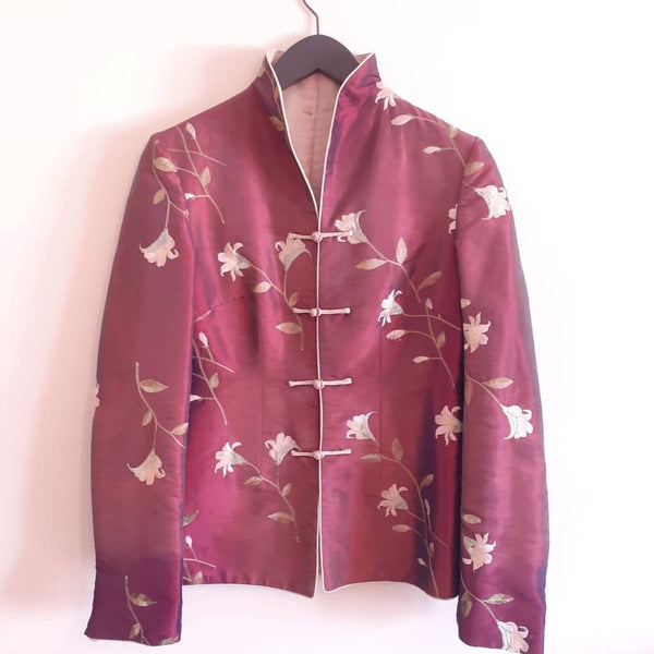 Authentic handmade Chinese brocade jacket