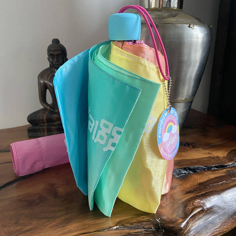 Smiggle rainbow umbrella, BNWT