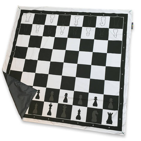 Chess Board Family PACMAT Picnic Blanket