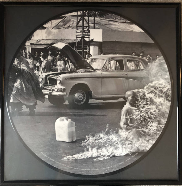 Rage Against the Machine Framed Picture Disc record vinyl art wall hanging