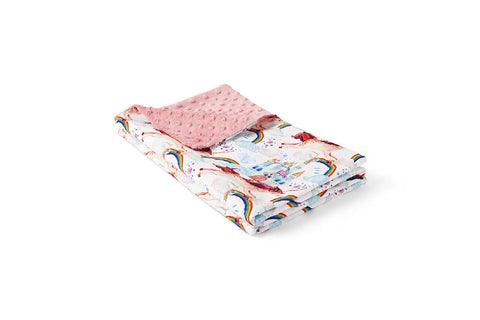 Pink Unicorn - Baby Blanket