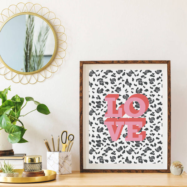 LOVE Art Print | Home Decor - Wall Art - Typography
