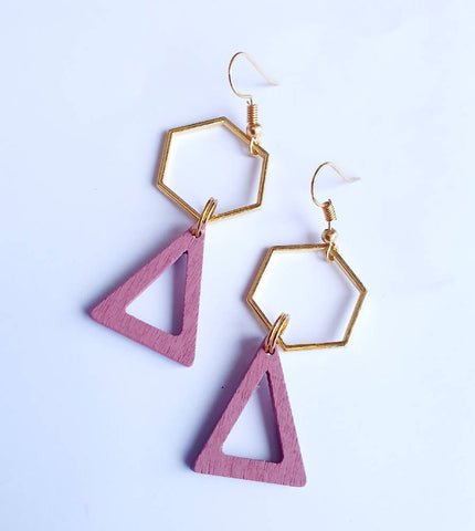 Pink Triangle Drops