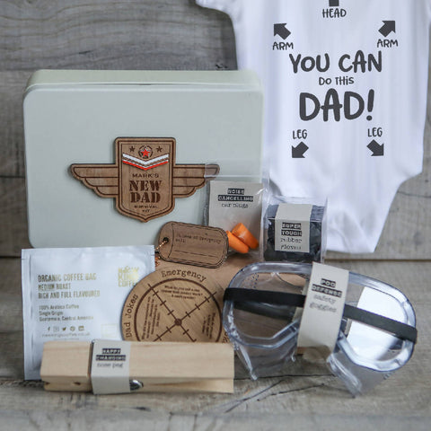 Personalised New Dad's Survival Kit