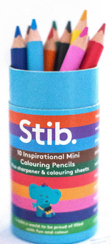 Stib Mini Colouring Pencils; Sparking Conversation with Children