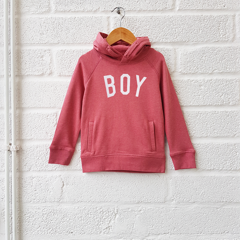 BOY Kids Hoody<br>Pink