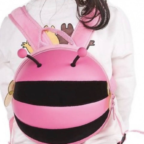 Pink Bumblebee Backpack