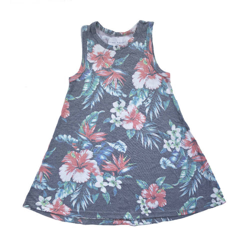 SOL ANGELES FLOWER DRESS 4 YEARS
