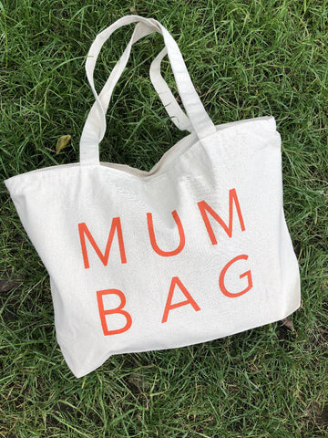 M U M Bag with zip