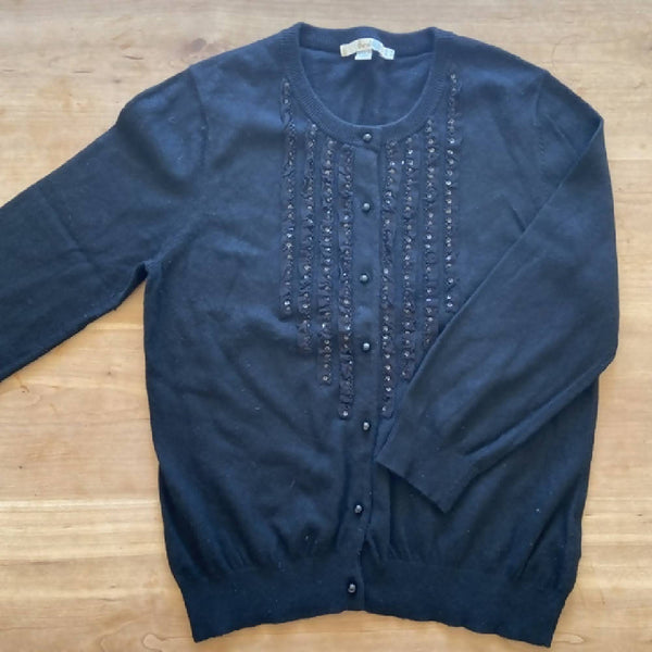 Boden black cardigan, size 14