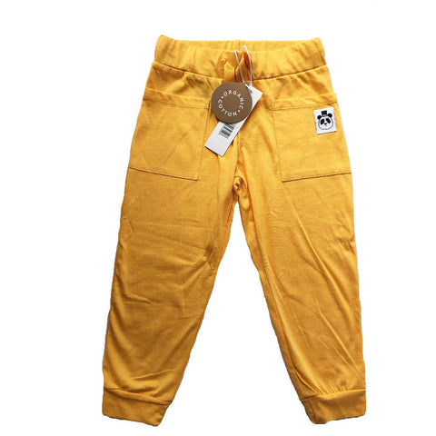 MINI RODINI YELLOW TROUSERS 4-5 YEARS