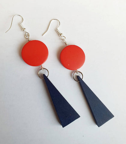 Colour Pop Navy Triangles