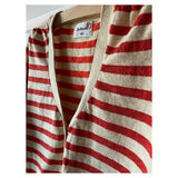 BELLEROSE CUTE COSY STRIPY CARDIGAN AGE 8/10