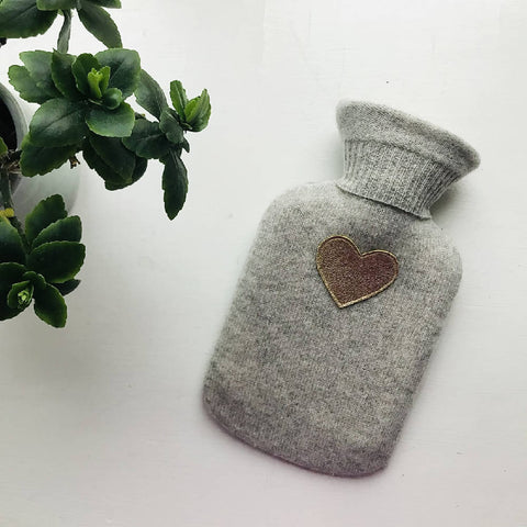Pure Cashmere Mini Hot Water Bottle