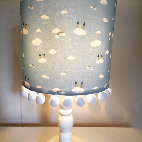Castle On A Cloud PomPom Large Handmade Light Shade