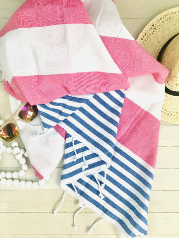 Resort Striped Hammam Towel