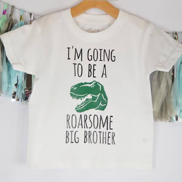 'Roarsome Big Brother' Kids T Shirt