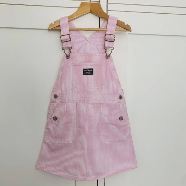 Osh Kosh Kids Pink Dungaree Dress ( (4-5 yrs)