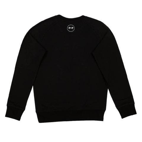 Kids Earth Sweatshirt - Black