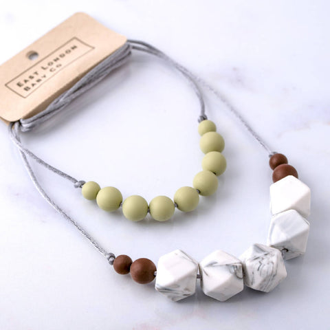 Earth Teething Necklace