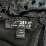 Topshop Crushed Velvet Lace Playsuit 16