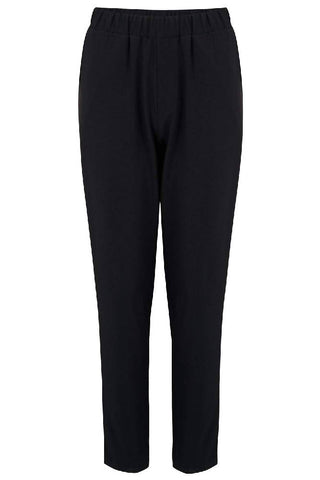 Sugarhill Brighton - Tori Satin Stripe Detail Trouser - Black