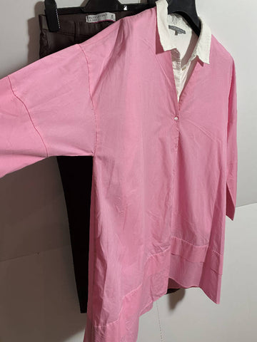 Zara Pink Cotton Top XS (10-12 fit)