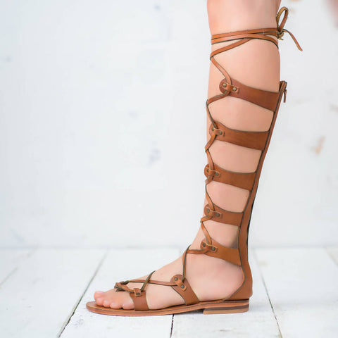 pasha living gladiator sandals