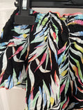 Marks & Spencer girls' bardot tropical blouse, age 8-9