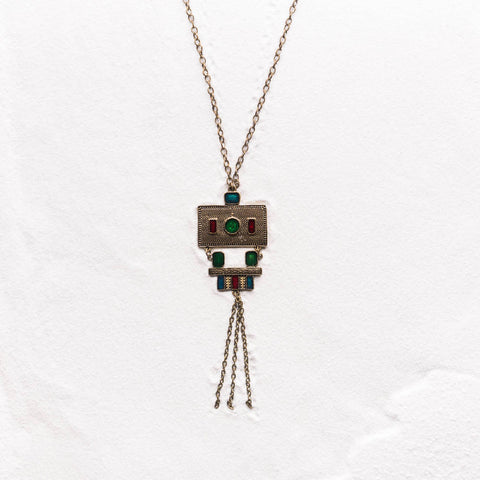 Bronze Rectangle Pendant