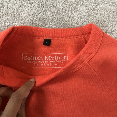 Selfish Mother Supersoft jumper in coral