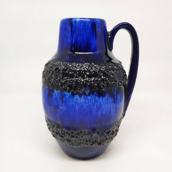 Cobalt Blue West German Vase