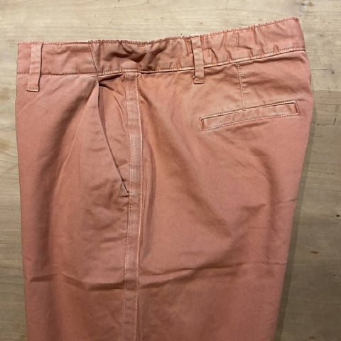 GAP salmon pink chinos with side stripe, UK14