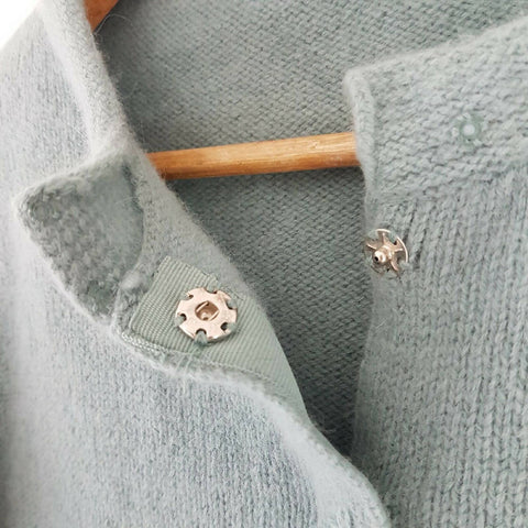 M&S Per Una Cardigan Lambswool Angora Small