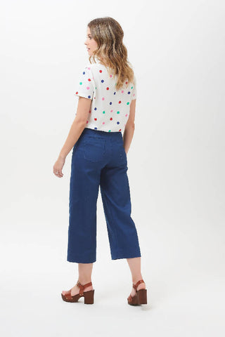 Sugarhill Brighton - Alma Cropped Wide Leg Trouser