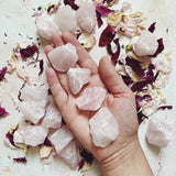 Rough Rose Quartz Crystal