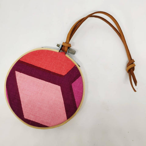 Small Vintage Fabric Bauble - David Hicks