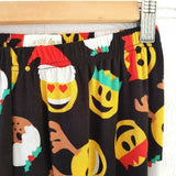 Christmas Emoji Leggings Black Large
