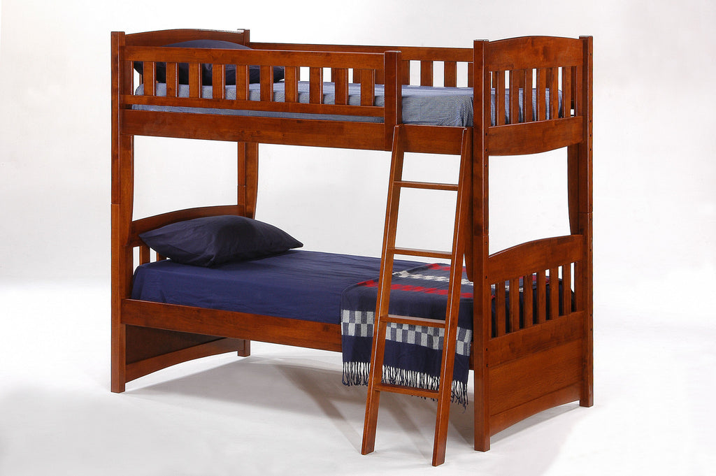 Cinnamon Twin/Twin Bunk Bed