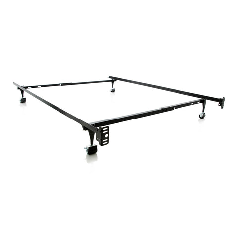 Heavy Duty Steel Twin / Full Adjustable Bed Frame