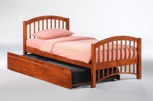 Zest Molasses Platform Bed