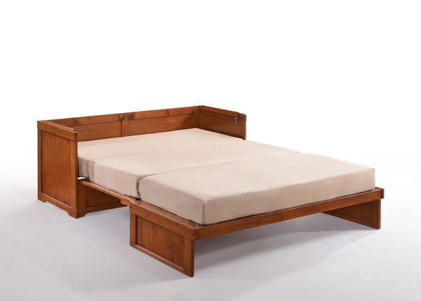 Murphy Cube Cabinet Bed - Cherry