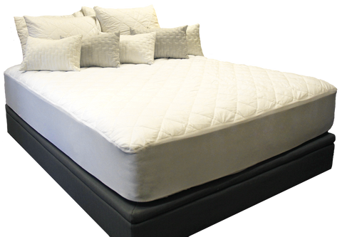 Quilted Cotton Mattress Pad