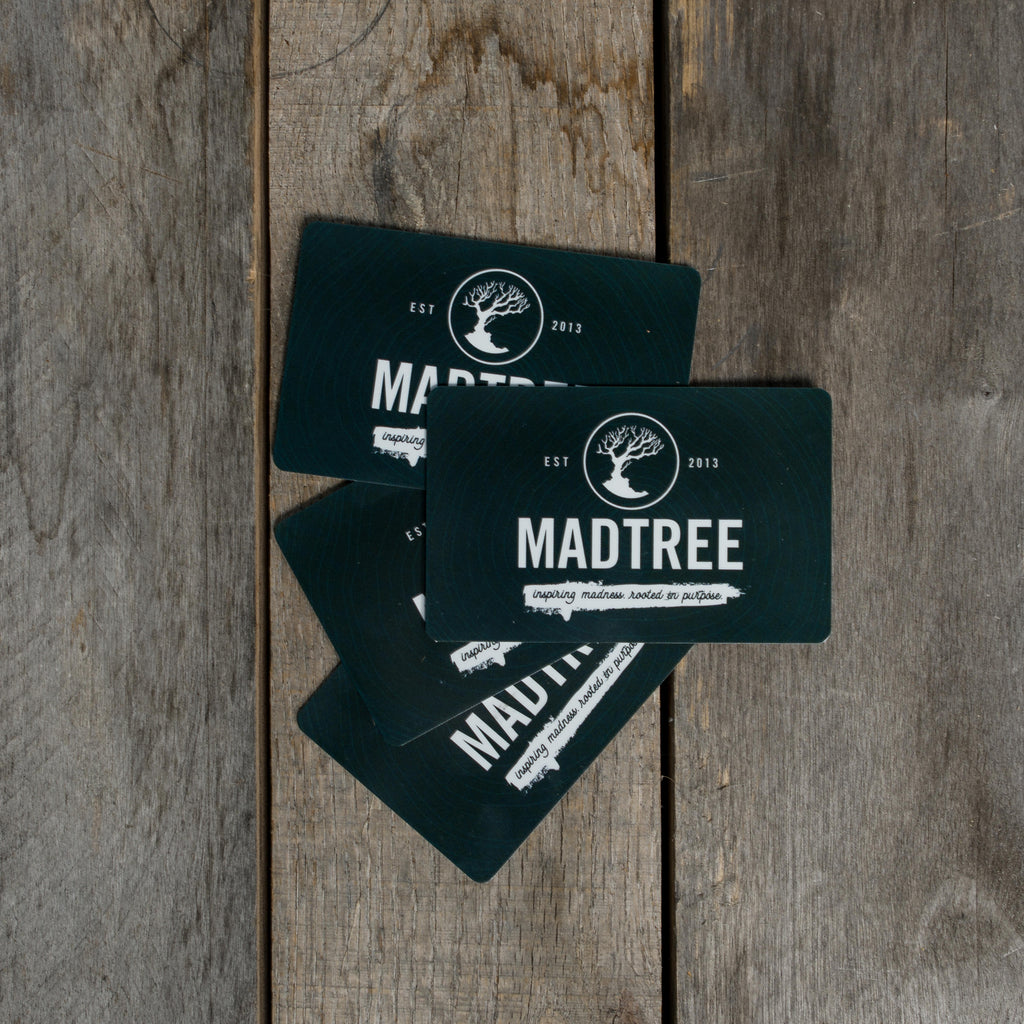 $100 MadTree Gift Card
